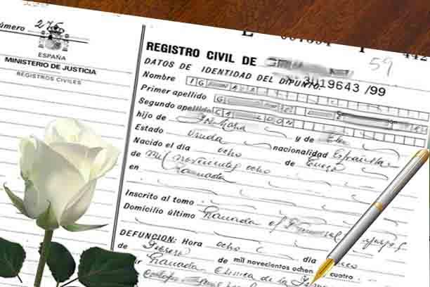 certificado defuncion salamanca